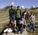 Group photo meteor observers at European Southern Observatory