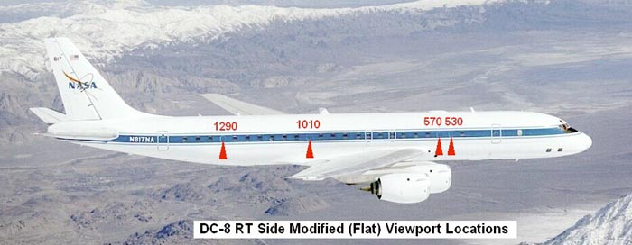 right side DC-8 layout