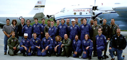 1998 Leonid MAC mission group photo