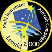 mission patch 2000 Leonid MAC
